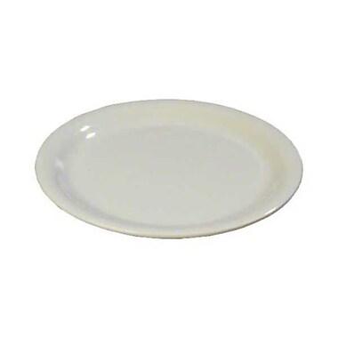 Carlisle 9'' Wide Rim Dinner Plates - Durus Collection, Bone