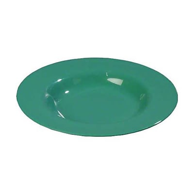 Carlisle 20 oz Chef Salad/Pasta Bowls - Durus Collection, Meadow Green