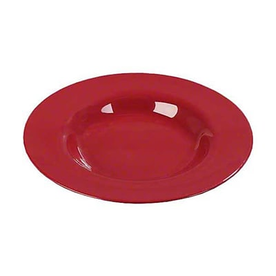 Carlisle 20 oz Chef Salad/Pasta Bowls - Durus Collection, Roma Red