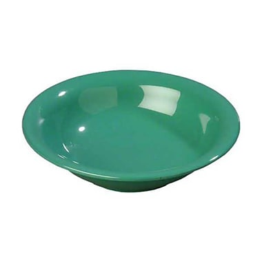 Carlisle 16 oz Rimmed Bowls - Durus Collection, Meadow Green