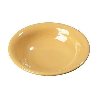 Carlisle 16 oz Rimmed Bowls - Durus Collection, Honey Yellow