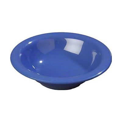 Carlisle 12 oz Rimmed Bowls - Durus Collection, Ocean Blue