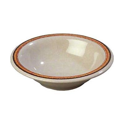 Carlisle 12 oz Rimmed Bowls - Durus Designer Collection, Sierra Sand