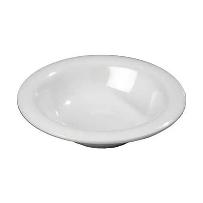 Carlisle 6 oz Rimmed Bowls - Durus Collection, White