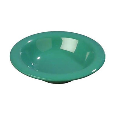 Carlisle 6 oz Rimmed Bowls - Durus Collection, Meadow Green