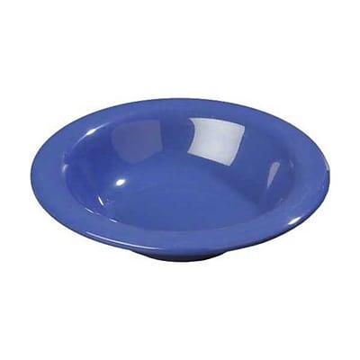 Carlisle 6 oz Rimmed Bowls - Durus Collection, Ocean Blue