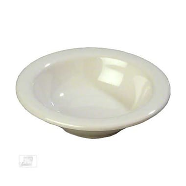 Carlisle 4-1/2 oz Rimmed Fruit Bowls - Durus Collection, Bone
