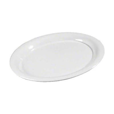 Carlisle 11'' x 14'' Oval Platters - Durus Collection, White