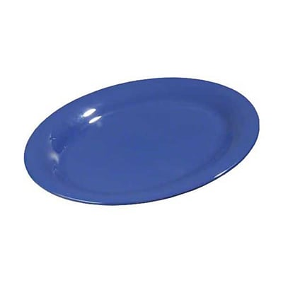 Carlisle 9'' x 12'' Oval Platters - Durus Collection, Ocean Blue
