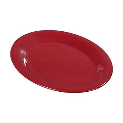 Carlisle 9'' x 12'' Oval Platters - Durus Collection, Roma Red