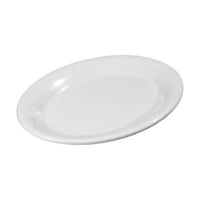 Carlisle 7'' x 10'' Oval Platter - Durus Collection, White