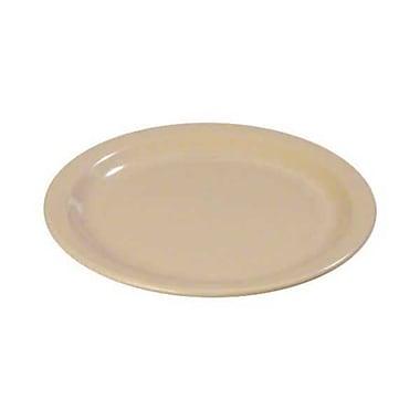 Carlisle 9'' Dinner Plate - Dallas Ware Collection, Tan
