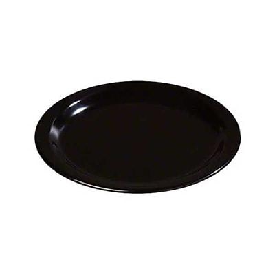 Carlisle 7'' Salad Plates - Dallas Ware Collection, Black