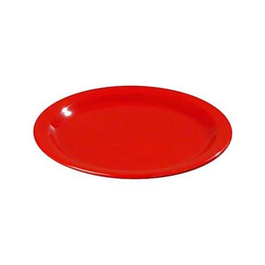Carlisle 7'' Salad Plates - Dallas Ware Collection, Red