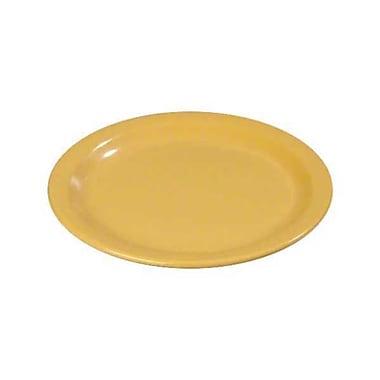 Carlisle 7'' Salad Plates - Dallas Ware Collection, Honey Yellow