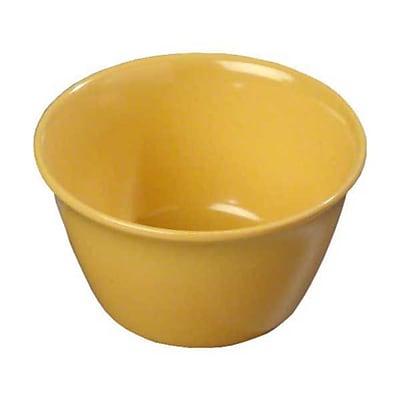 Carlisle 8 oz Bouillon Cups - Dallas Ware Collection, Honey Yellow