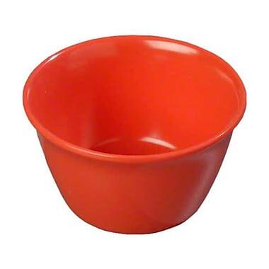Carlisle 8 oz Bouillon Cups - Dallas Ware Collection, Sunset Orange
