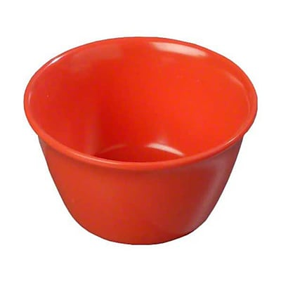 Carlisle 8 oz Bouillon Cups - Dallas Ware Collection, Sunset Orange