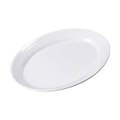 Carlisle 9'' x 12'' Oval Platters - Dallas Ware Collection, White