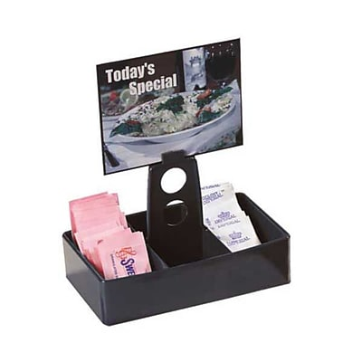 Carlisle Plastic Merchandiser Caddies, Black