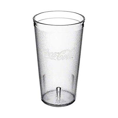 Carlisle 52163550E, 16 oz Clear Coca-Cola Tumbler 432795