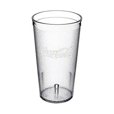 Carlisle 52163550E, 16 oz Clear Coca-Cola Tumbler