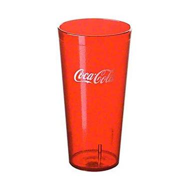Carlisle 52243550H, 24 oz Ruby Coca-Cola Tumbler