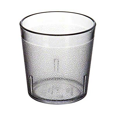 Carlisle 552907, 9 oz Stackable™ Old Fashion Tumbler, Clear