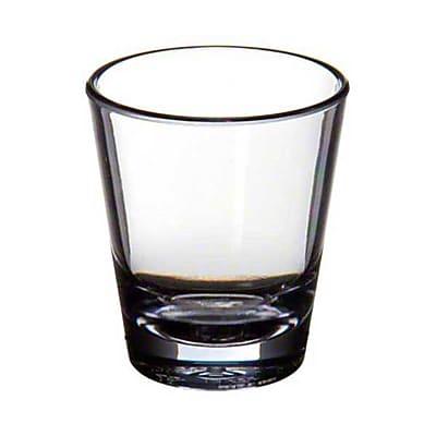 Carlisle 560107, 1-1/2 oz Alibi™ Plastic Shot Glass, Clear