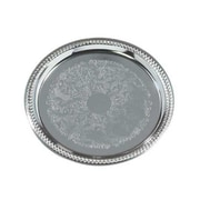 Carlisle 14'' Celebration Round Gadroon Tray