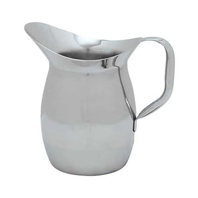 Carlisle 3 qt Stainless Steel Bell Pitcher
