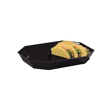 Carlisle 5 lb Low Profile Crock, Black