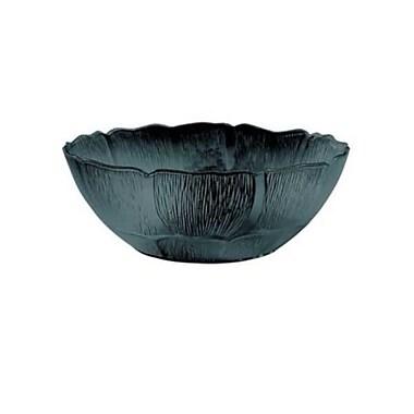 Carlisle 9-7/10 qt Petal Mist Bowl, Black