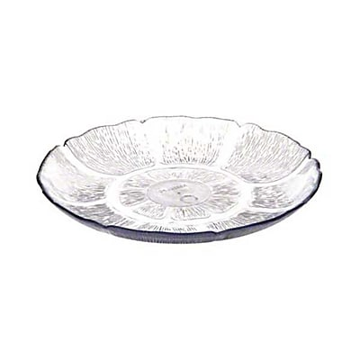Carlisle 6954-07, 7-1/2'' Petal Mist Plate, Clear