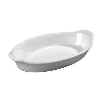 Carlisle 12 oz Oval Casserole Dish, White