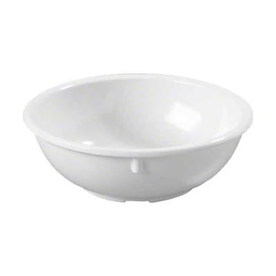 Carlisle 14 oz Kingline™ Nappie Bowl, White