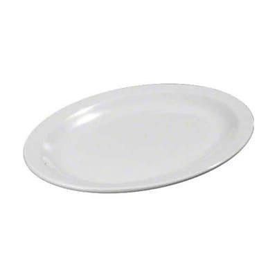 Carlisle 12'' x 8-31/32''Kingline™ Oval Platter, White