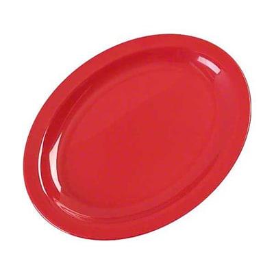 Carlisle 12'' x 8-31/32''Kingline™ Oval Platter, Red