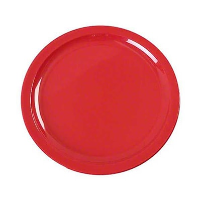 Carlisle 8-29/32'' Kingline™ Dinner Plate, Red