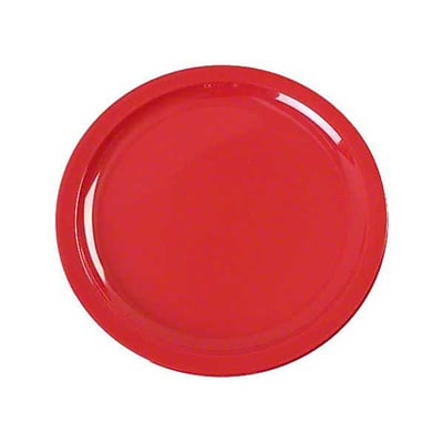 Carlisle 7-7/32'' Kingline™ Sandwich Plate, Red