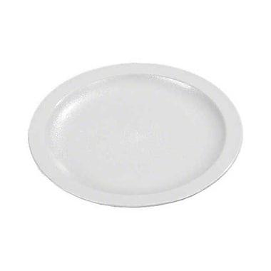 Carlisle PCD209-02, 9'' Narrow Rim Plate - Polycarbonate Collection, White
