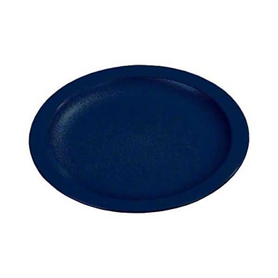 Carlisle PCD209-50, 9'' Narrow Rim Plate - Polycarbonate Collection, Dark Blue