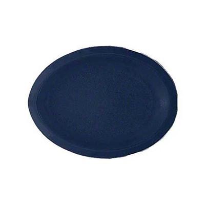 Carlisle PCD412-50, 12'' x 9'' Oval Platter, Dark Blue