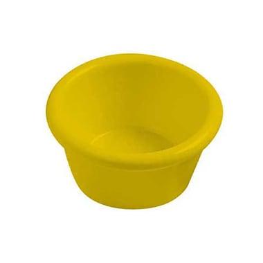 Carlisle 1-1/2 oz Melamine Ramekin, Honey Yellow