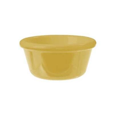 Carlisle 4 oz Smooth Ramekin, Honey Yellow 452522