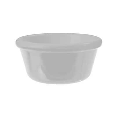 Carlisle 6 oz Smooth Ramekin, White