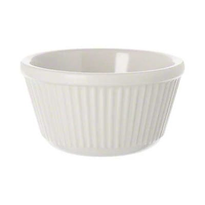 Carlisle 4 oz Fluted Ramekin, Bone