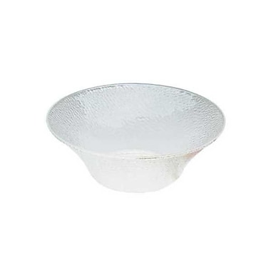 Carlisle 3-3/10 qt Round Acrylic Pebbled Bowl