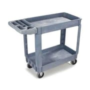 Carlisle UC4018, 17'' Polypropylene Small Bin Top Utility Cart