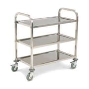 Carlisle UC4031733, 18'' Stainless Steel Utility Cart